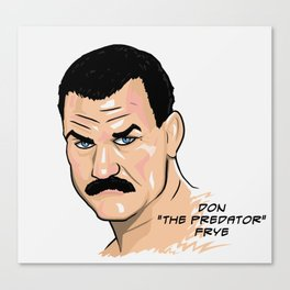 Don Frye Canvas Print