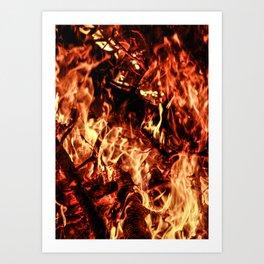 In Flames #3 Art Print
