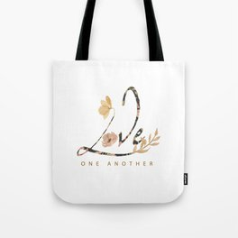 LOVE - one another Tote Bag