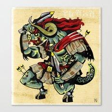 Ganon Canvas Print