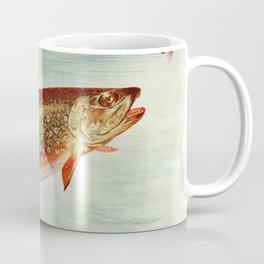 Vintage Brook Trout Illustration (1914) Coffee Mug
