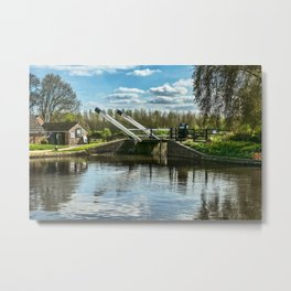 Bridge 221 On The Oxford Canal Metal Print