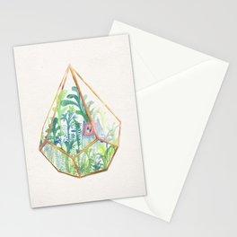 Terrarium Garden II Stationery Cards