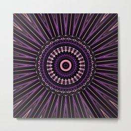 Pretty in Purple (1 of 3) Metal Print