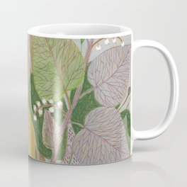 Folksy Autumn Bird Coffee Mug