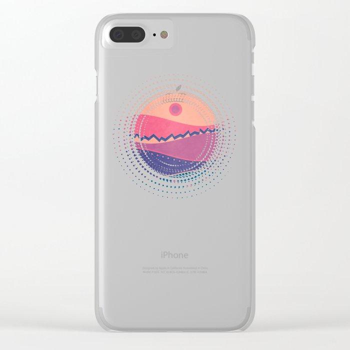 Landscape C.01 Clear iPhone Case