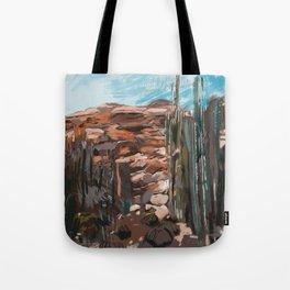 Desert Mindset - Settings Series, 2018, Foolish Studio Tote Bag
