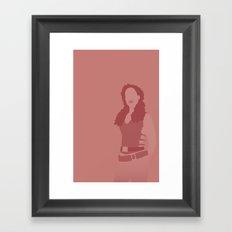 Zoe, Firefly serenity Framed Art Print