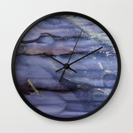 black cliff Wall Clock