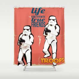 Troops Shower Curtain