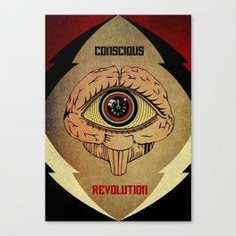 Concious Revolution  Canvas Print