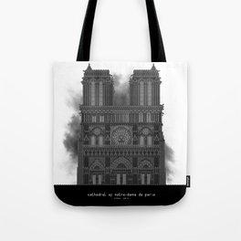 HexArchi - France, Paris, Cathedral of Notre Dame de Paris Tote Bag