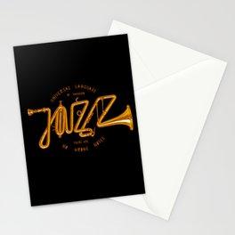 Jazz Trumpet Stationery Cards