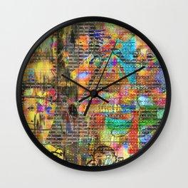 As Weird As Human Wall Clock