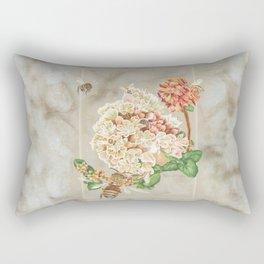 Honeybees and Buckwheat Rectangular Pillow