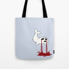 Baby Seal Tears Tote Bag