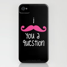 I Mustache You iPhone (4, 4s) Slim Case