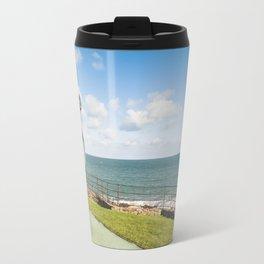 Irish landscape in Greystones Travel Mug