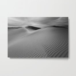 Sand Waves Metal Print