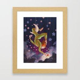 Aerial Dream Framed Art Print