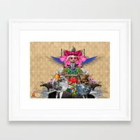 literature Framed Art Prints featuring Cheap Literature by Ehud Graf
