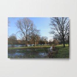 On Lake Gadebridge -017 Metal Print