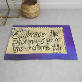 Storms Will Pass Rug