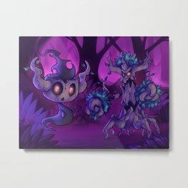 Ghost tree pokes Metal Print