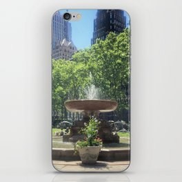 Summer in Bryant Park iPhone Skin