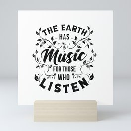 MUSIC Mini Art Print