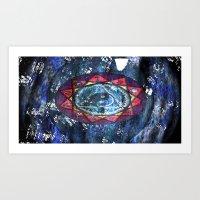 Space Ichiing (unposter-fied) Art Print