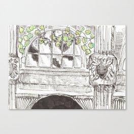 city detail Canvas Print