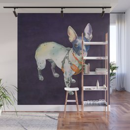 American Hairless Terrier Wall Mural