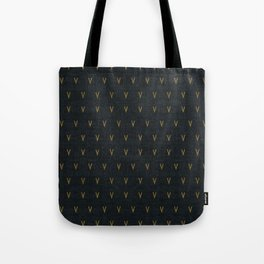 DOTTED VEE Tote Bag