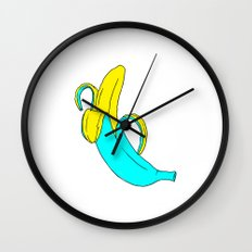 pis-ang (banana) Wall Clock