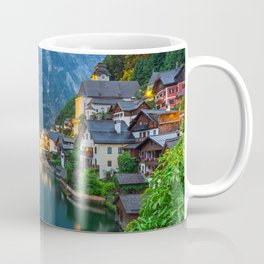 Hallstatt Village, Alps Coffee Mug