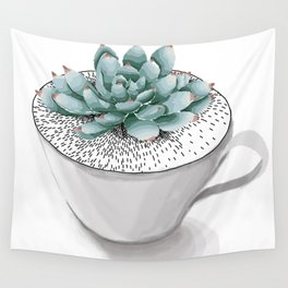Sexy Succulent Wall Tapestry