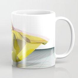 Waved yellow surface Coffee Mug