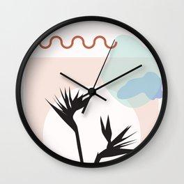 // Royal Gardens 01 Wall Clock