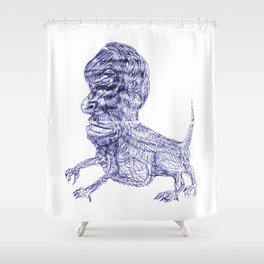 On becoming 46-ish Shower Curtain