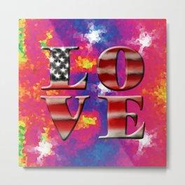Love American Style Metal Print