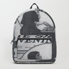 The Saturday Evening Post vintage cover - ft Fitzgerald Backpack