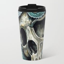 Please my love, don't die so far from the sea... Travel Mug