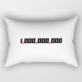 Three Comma Club Real Entrepreneur Member Rectangular Pillow