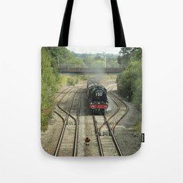 Royal Scot at Tiverton Junction Tote Bag