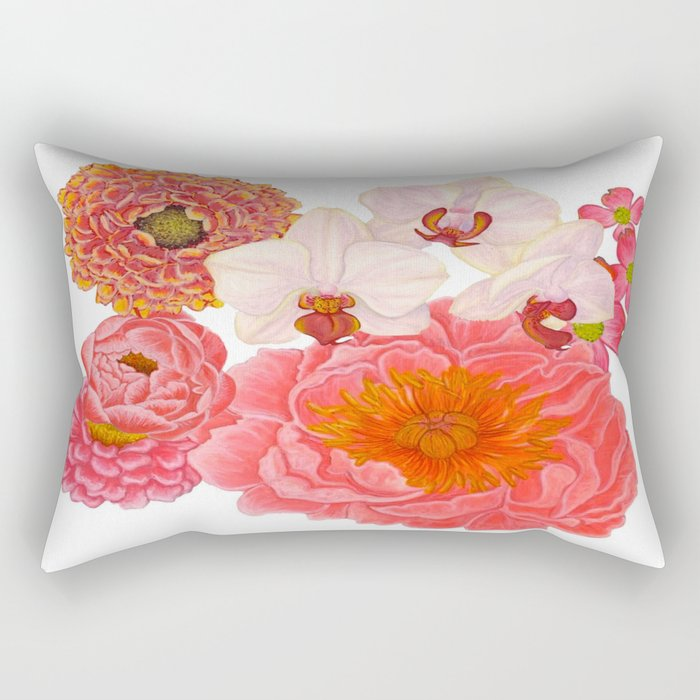 Flowers For Days Rectangular Pillow