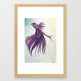 .beta i Framed Art Print
