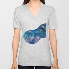 Space, the final frontier Unisex V-Neck