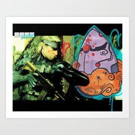 """""""Snaaaake !"""" Art Print"""