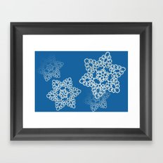 Let it Snow Framed Art Print